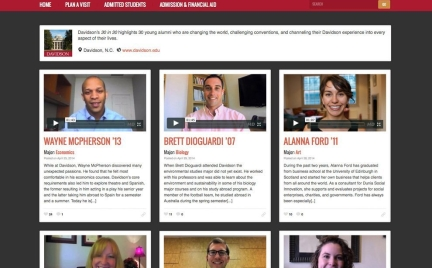 30 in 30 homepage alumni profiles