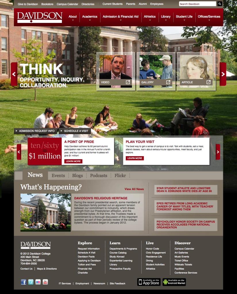 Davison College Homepage
