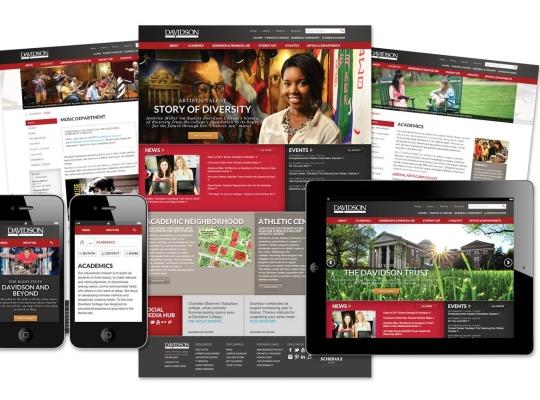 Davidson College Website Redesign