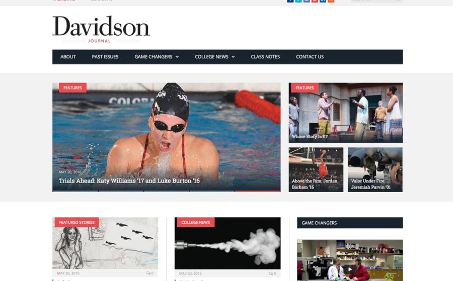 Davidson Journal - College Magazine